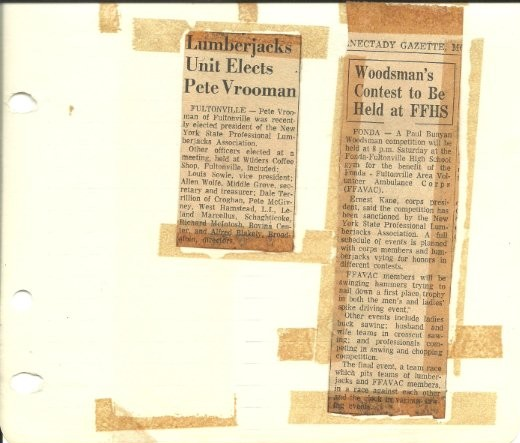 NYSLA 1972 Newspaper Clipping
